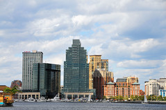 Baltimore Maryland Eastern Inner Harbor Waterfront Skyline (mbell1975) Tags: usa water skyline buildings harbor us office md waterfront harbour maryland baltimore inner eastern skyscrapper