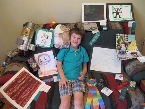 HOt Rod and his 2010 fair entries