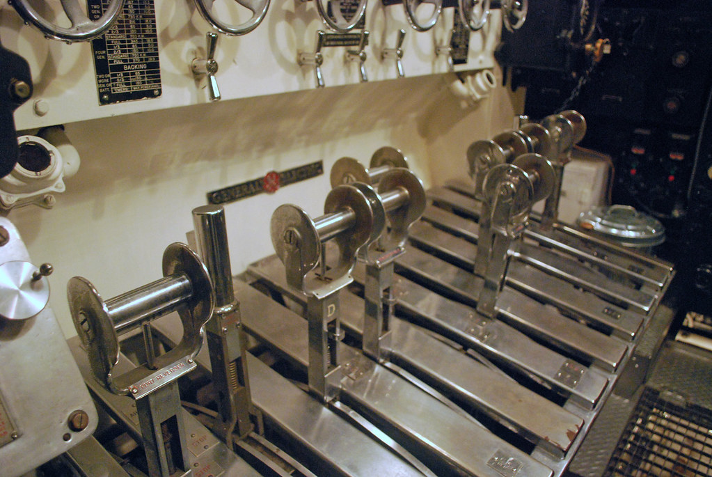 USS Cod Maneuvering Controls