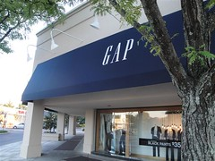 GAP (Suburban Square) (Joe Architect) Tags: travel signs philadelphia sign retail mall pennsylvania gap thegap pa philly ardmore 2010 mainline suburbansquare
