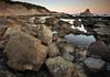 Egunsentia Loia inguruan (jonlp) Tags: nature landscape dawn natura shore euskalherria basquecountry hendaye hendaia egunsentia itsasertza paisajea