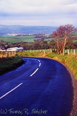 Strabane-Plumbridge Road, Northern Ireland (travelphotographer2003) Tags: road farmland northernireland emeraldisle greenfields thomasrfletcher strabaneplumbridgeroad bhphotoleicastreetphotographycontest