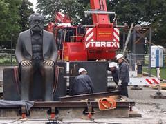 Karl Marx Berlin Denkmal