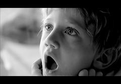 OOOOOOOH! (mario bellavite) Tags: boy portrait bw shot son best explore marco stupore mariobellavite