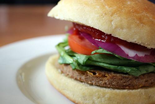 brioche hamburger buns.