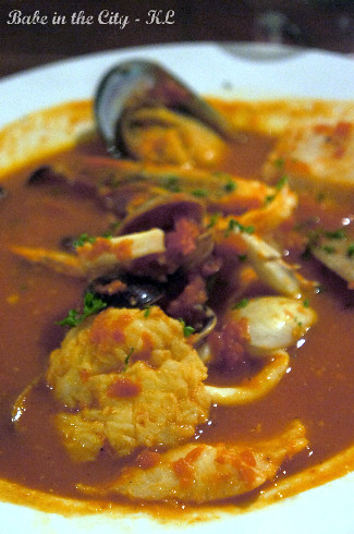 Zuppa Di Pesce (RM30 for half serving)