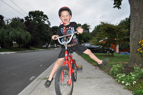 First Ride With No Training Wheels