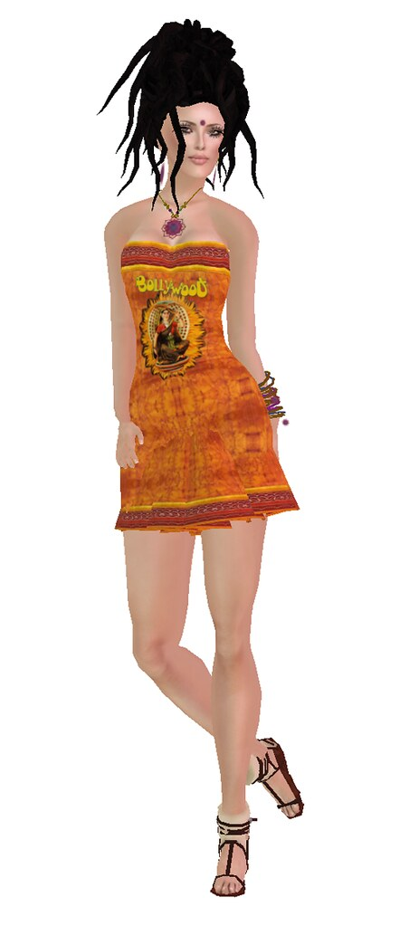 *Sari's* Gift Bollywood Dress OLD!+*Sari's* GIFT Happy Returns Dreads (folder with other colors!!
