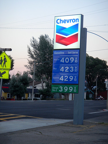gas prices in California....yuck