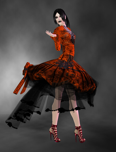 Happy Halloween 2010 dress - BOXED by Grim Bros on Xstreet
