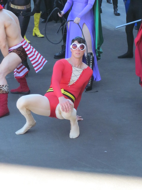 Plastic Man at DragonCon 2010
