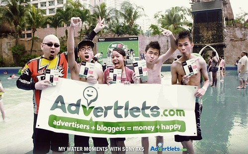 Sony TX5 - Advertlets Winning team