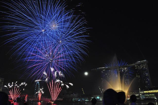 YOG Fireworks (Blue Sphere)