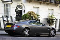 Aston Martin DB9 (Roy Schoonderbeek) Tags: london roy martin sony united kingdom knightsbridge chester a200 coupe mews aston db9 schoonderbeek
