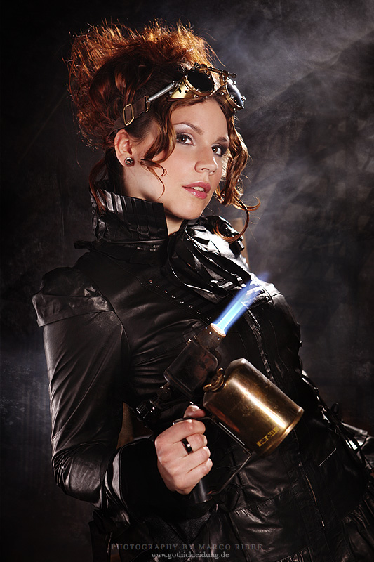 steampunk girl 18
