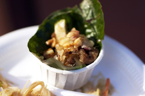 miang kana from ploy thai @ asian feastival