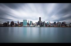 return to gotham (Diego Tabango) Tags: new york city nyc newyorkcity longexposure travel usa water clouds river nikon cityscape manhattan diego lee nd nikkor gotham filters bigapple longislandcity 1735mm neutraldensity tabango bw110 d700 diegotabango