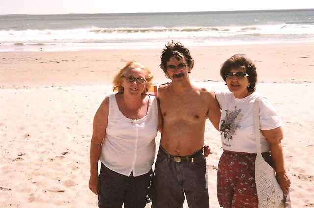 Debbie, Louise, and I at Rye Beach September 4, 2010