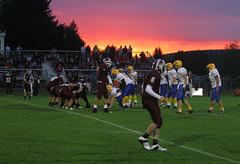 September 10 (253/365) (hoohaaphotos) Tags: sunset newyork sports football photoaday 365 highschoolfootball 2010 highschoolsports project365 3652010 project3652010 hoohaa365