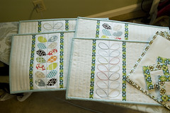 Urban Home Goods swap package (JenniferLGB) Tags: quilted placemats urbanhomegoodsswap