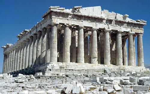 フリー写真素材, 建築・建造物, 遺跡, パルテノン神殿, ギリシャ共和国, 世界遺産,
