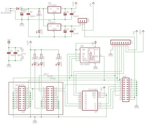Beebthernet Mk 2 Circuit Diagram