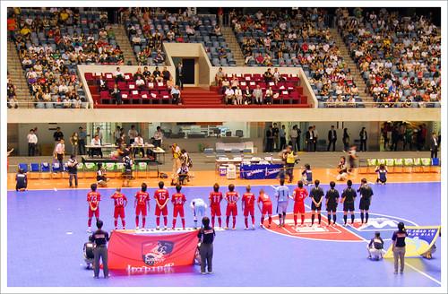 名古屋オーシャンズ vs エスポラーダ北海道_試合前@Fリーグ・セントラル開催_201008