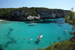 D20100829_0225 (bizzo_65) Tags: sea beach island spain mediterranean mediterraneo mare playa espana islas spiaggia menorca cala spagna isola minorca balearic macarella baleari
