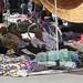 Stall holder in Kashgar market place