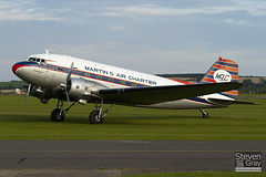 PH-DDZ - 19754 - Dutch Dakota Association - Douglas DC-3 C-47A - Duxford - 100905 - Steven Gray - IMG_8842