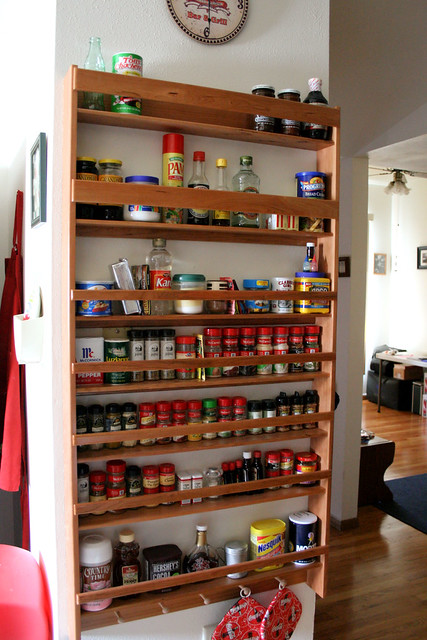 Spice Rack from Dad.