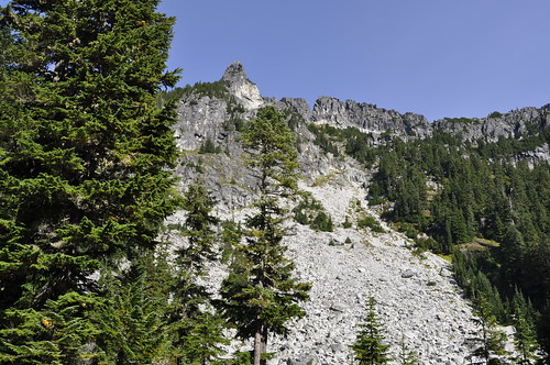 Surprise and Glacier Lakes - Cascades - Alpine Lakes Wilderness 130
