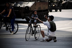 (Leonardo Martins) Tags: old brazil baby bike brasil riodejaneiro lumix bresil bicicleta brasilien panasonic militar moto tropical g2 resting independenceday downtow brsil antigo citi independncia ower bb 07desetembro