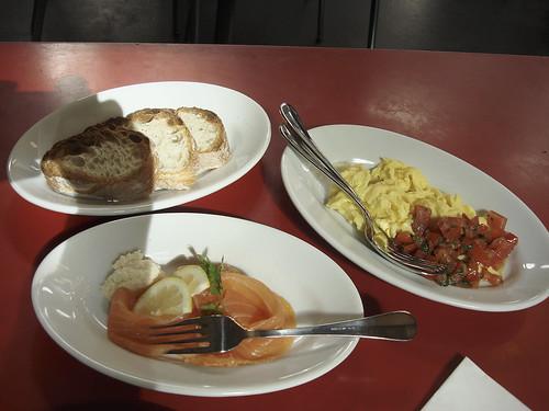 Frühstück Restaurant Markthalle Viadukt Zürich
