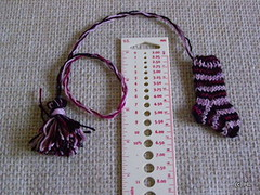 Wollmeise bookmark