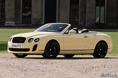 2010 - 2011 Bentley Continental Supersports Convertible In Light Yellow (NWVT.co.uk) Tags: road uk light wild black beauty car yellow out photographer continental convertible automotive hampshire most exotic chrome 200 plus british ever powerful creating mph supercar bentley exotica based 2010 citric the in supersports 2011 nwvt