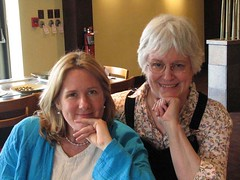 author Alison Larkin and  reformer Pam