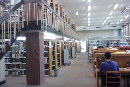 圖書館閱覽室