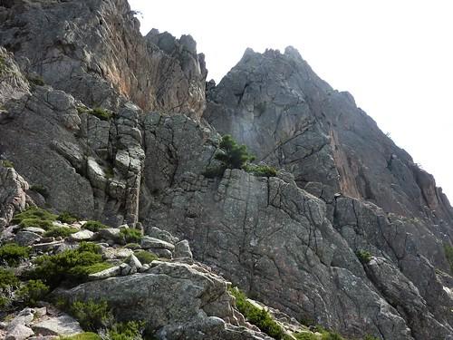 Bocca di Lariciu : sommet de Punta di Bonifacio