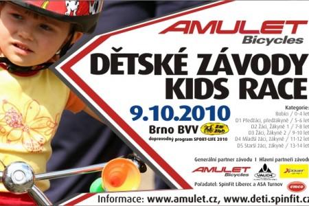 AMULET - Dětské závody Brno