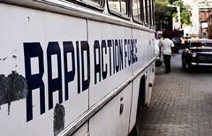 Rapid Action Force (Deutero) Tags: india streets force action sony maharashtra mumbai a200 rapid ganpati mws lalbaug