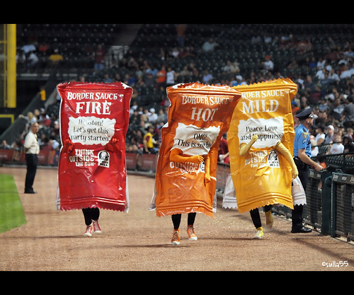 The Taco Bell hot sauce race