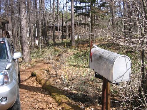 山荘の郵便受け 2009.4.18 by Poran111