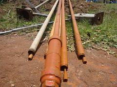 Ehikhoni pri.school-rusted rods,sunctions and GI of juakali pump.
