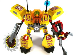 Exo-Force Assault Tiger, front view (WEBmikey) Tags: toys lego exoforce