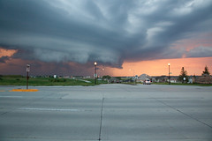 Storm's a'brewin' (Nick, Programmerman) Tags: road sunset rain clouds 5dii 24105storn