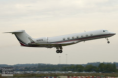 N282Q - 5090 - Private - Gulfstream G550 - 100906 - Luton - Steven Gray - IMG_9150