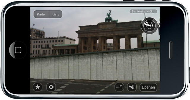 Berlin Wall 3-D allows viewers to see exactly where the Berlin Wall once stood, Courtesy of Hoppala Agency.