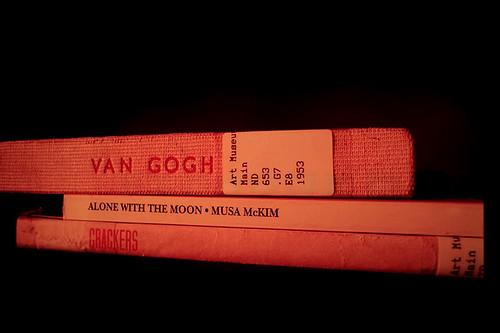 Nina Katchadourian: Sorted Books: TBA10: On Sight