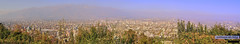 Panorama: Santiago de Chile (View from Cerro San Cristóbal)